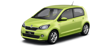 business_ new SKODA Citigo from Bickerton ŠKODA, Sheffield, South Yorkshire.