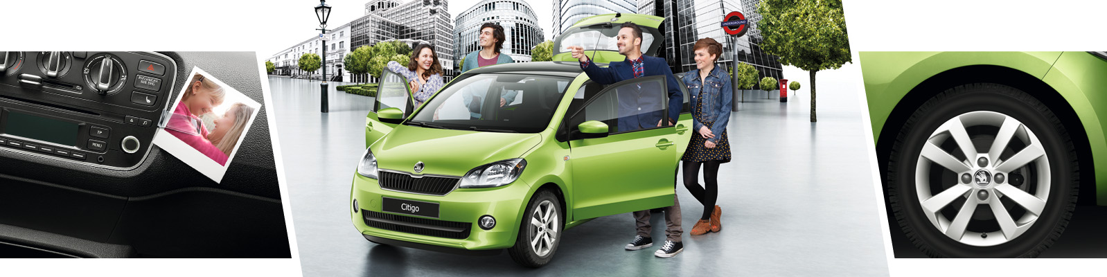 The new SKODA Citigo range - Voted What Car? Car of the Year from Bickerton ŠKODA, Sheffield, South Yorkshire.