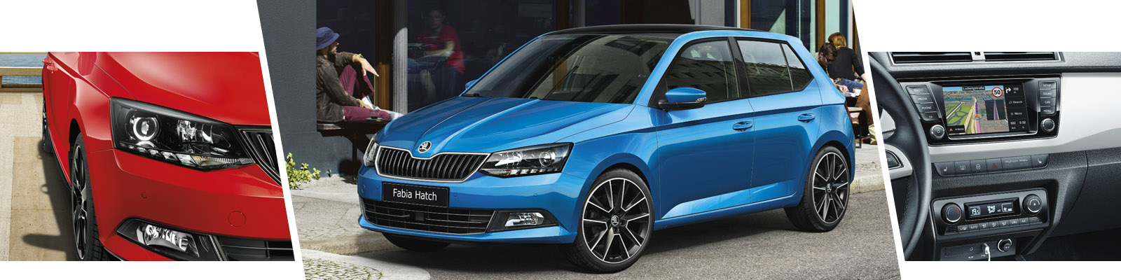 The fun and exciting NEW ŠKODA Fabia Hatchback and Estate