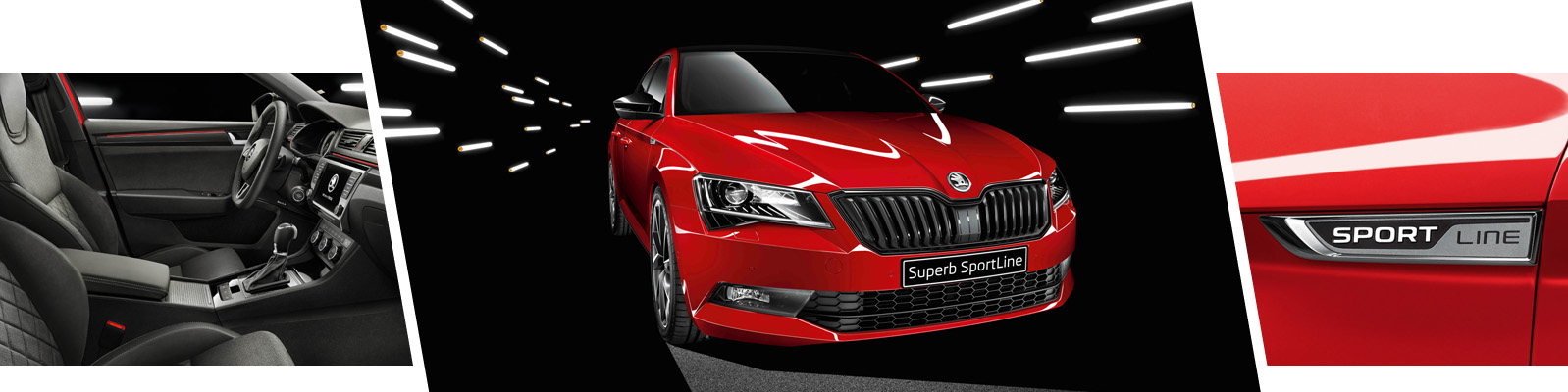 Luxury meets power with the SKODA SportLine range from Rainworth ŠKODA, Mansfield, Nottinghamshire.