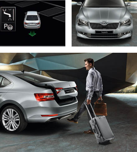 Travel in style. Travel in space. The new SKODA Superb Hatchback and Estate from Bickerton ŠKODA, Sheffield, South Yorkshire.