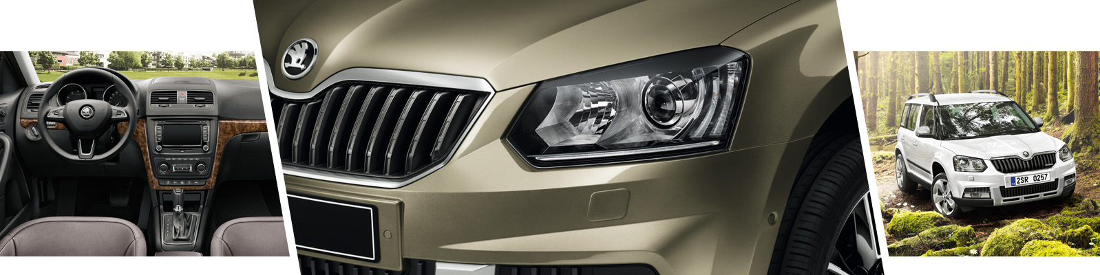 Drive your next adventure with the new SKODA Yeti Outdoor 4x4 SUV From Bickerton ŠKODA, Sheffield, South Yorkshire.