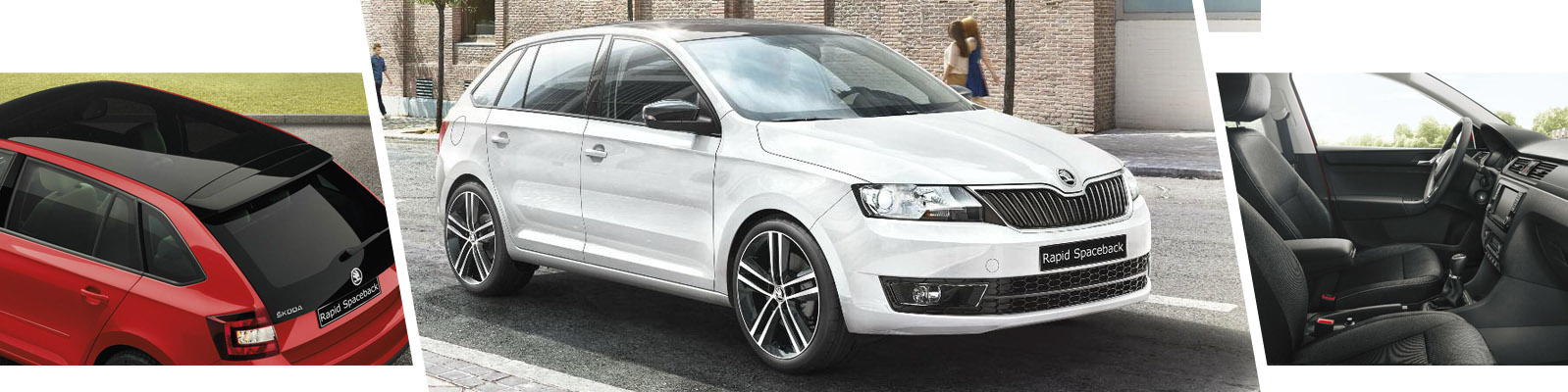 Practical, stylish and fun. The new SKODA Rapid Spaceback From Rainworth ŠKODA, Mansfield, Nottinghamshire.