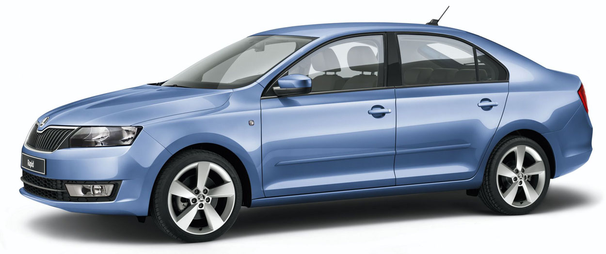 The new SKODA Rapid hatchback is an affordable, fun and practical family car with a 5 star NCAP rating From Rainworth ŠKODA, Mansfield, Nottinghamshire.