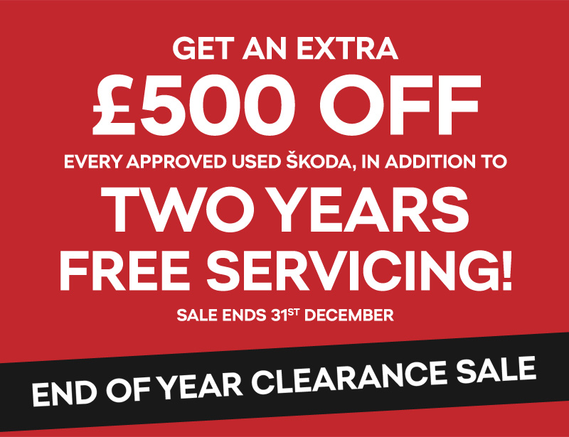 end of year clearance sale rainworth skoda. Black Bedroom Furniture Sets. Home Design Ideas