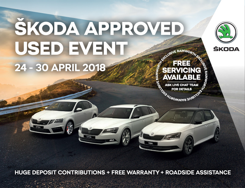 skoda approved used event 24th to 30th april rainworth. Black Bedroom Furniture Sets. Home Design Ideas