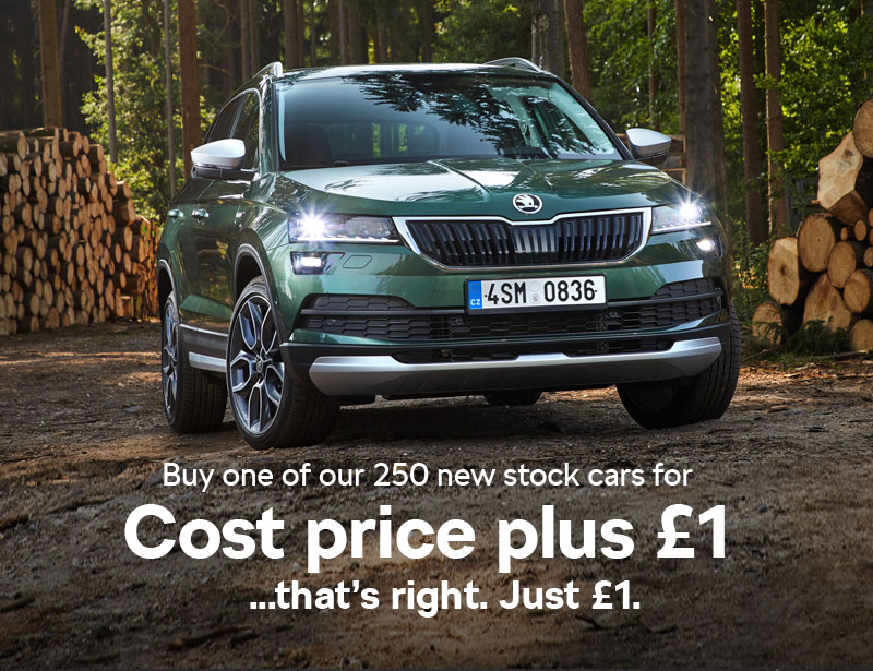 Drive Away Cars >> Offer Extended Drive Away A New Skoda For Cost Price Plus 1