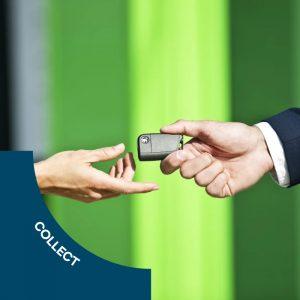Collect your rental car from Rainworth SKODA